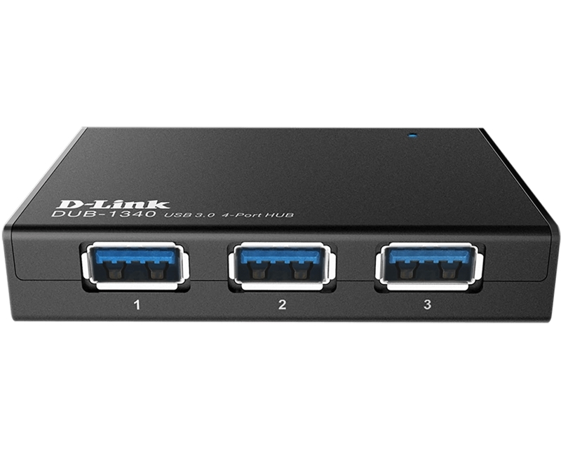 D-LINK DUB-1340 4port Superspeed USB 3.0 Hub