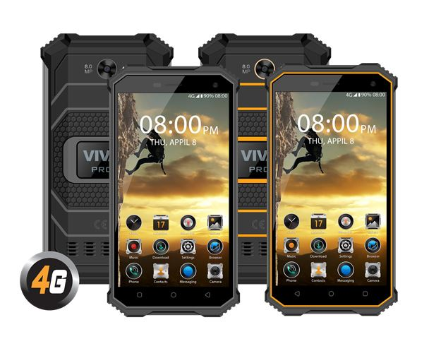 VIVAX SMART PRO 3 orange telefon