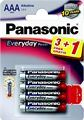 PANASONIC baterije LR03EPS4BP -AAA 4kom 3+1F Alkaline Everyday P