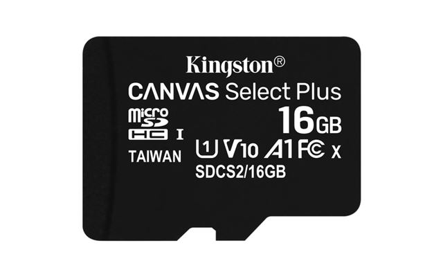 MICRO SD 16GB KINGSTON SDCS216GBSP