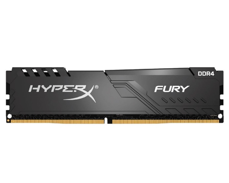 KINGSTON DIMM DDR4 8GB 3200MHz HX432C16FB3/8 HyperX Fury Black