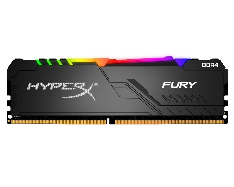KINGSTON DIMM DDR4 16GB 2666MHz HX426C16FB3A/16 HyperX Fury RGB