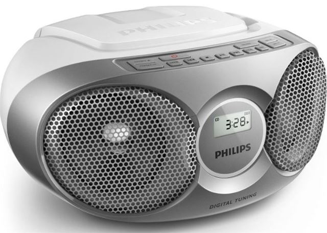 PHILIPS prenosni CD radio AZ215S12