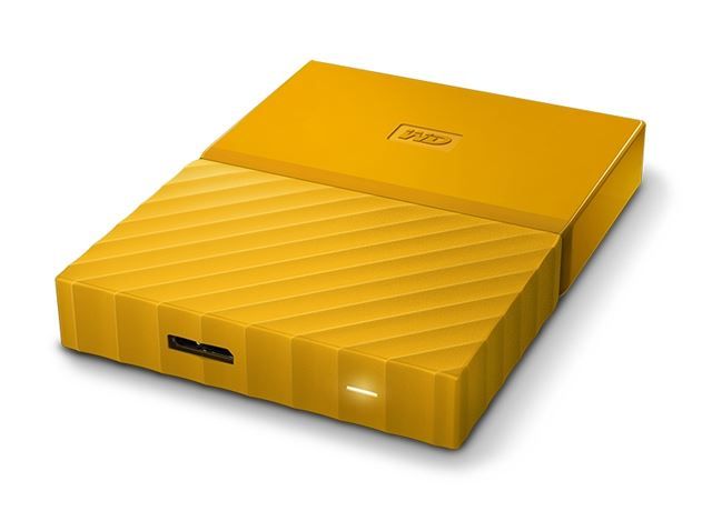 Externi hard Disk WD My Passport Yellow 1TB